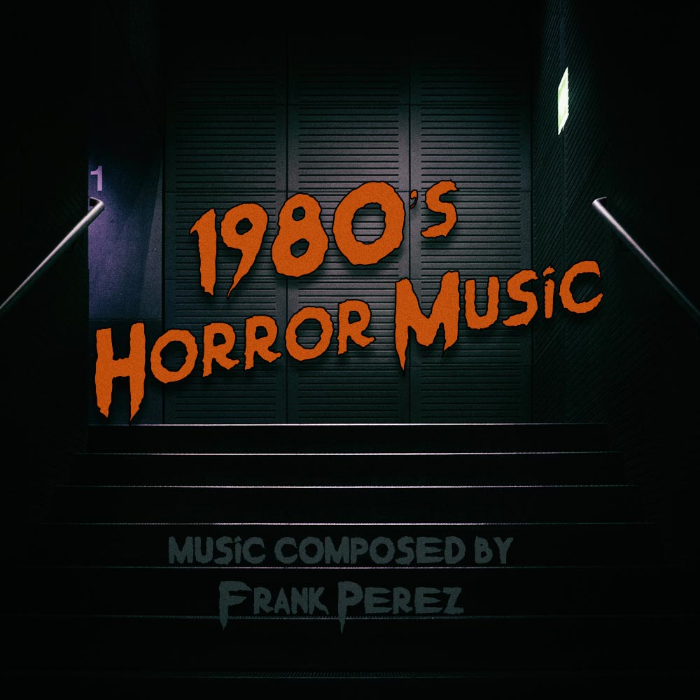 1980s Horror Music Artwork