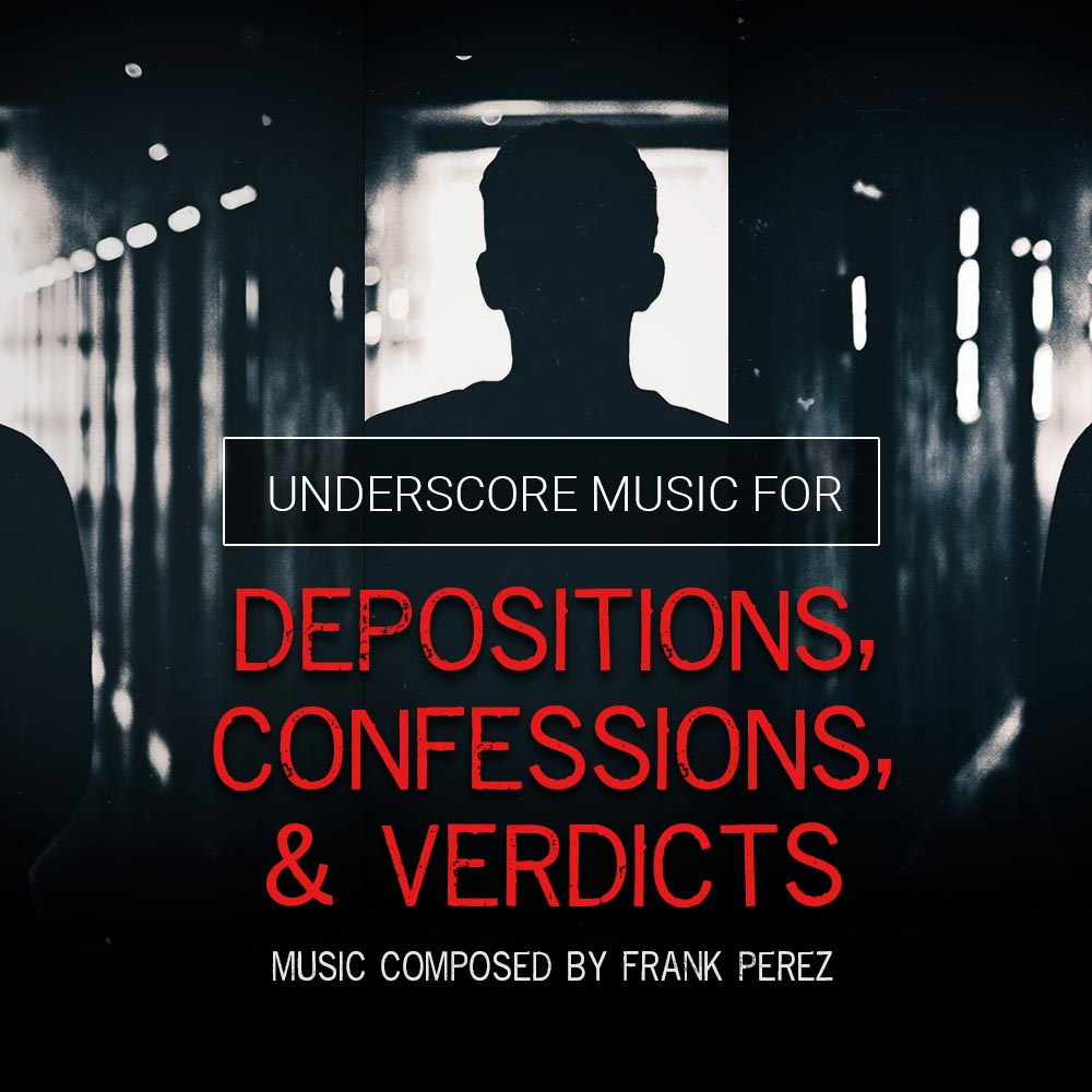 Depositions, Confessions & Verdicts Artwork
