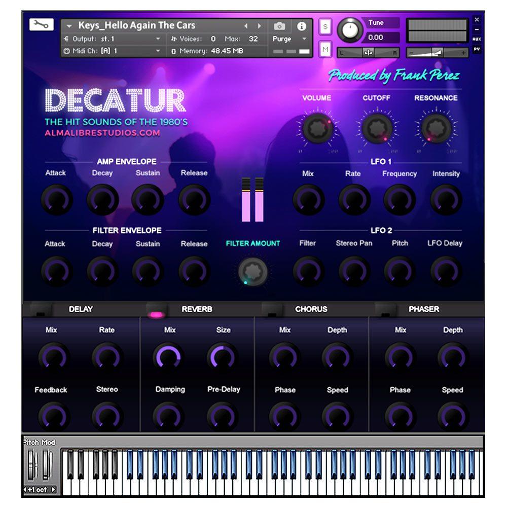 Almalibrestudios.com - Decatur Screenshot