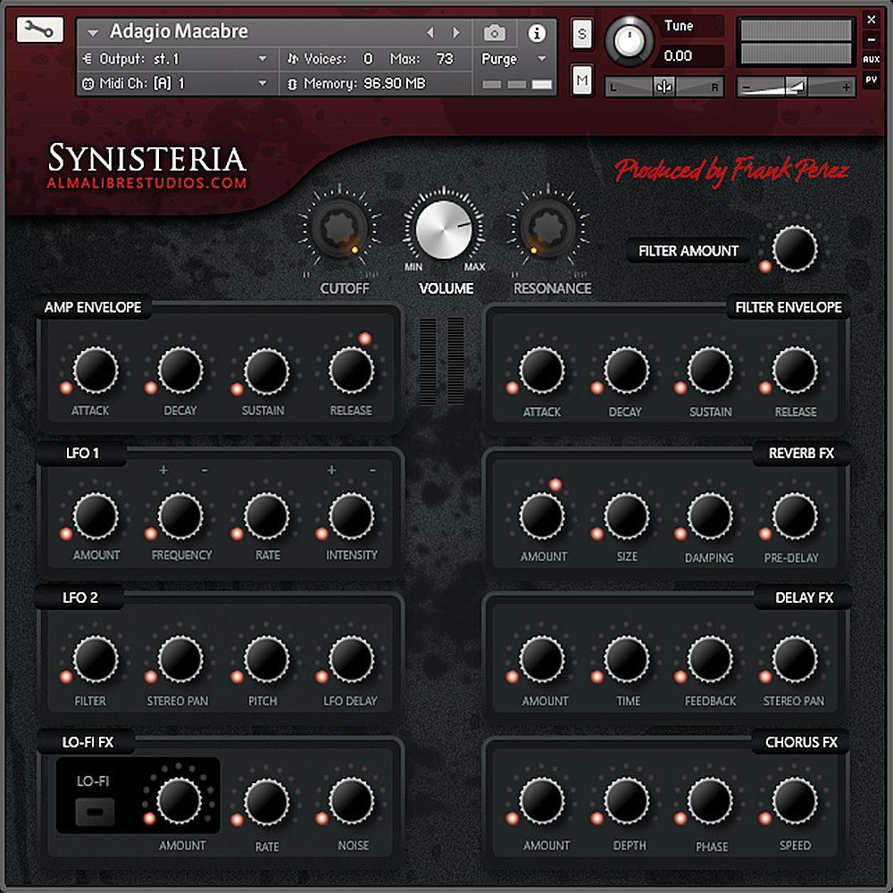 Synisiteria - Kontakt Instrument